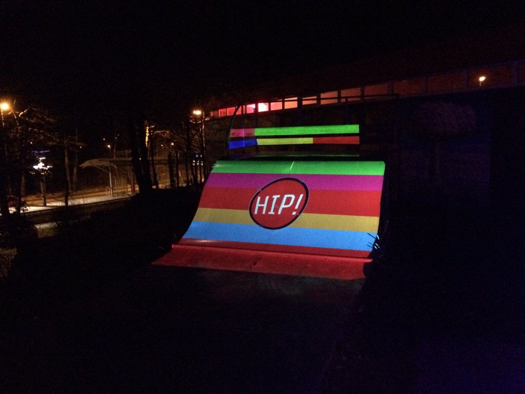 projection mapping @ hip2